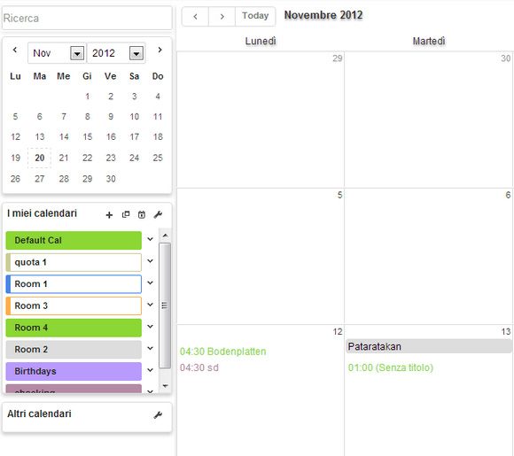 planning appuntamenti calendario aziendale