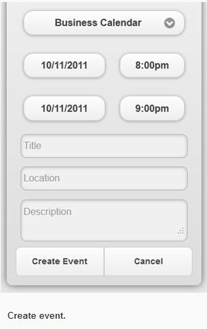 creazione eventi appuntamenti online da cellulare
