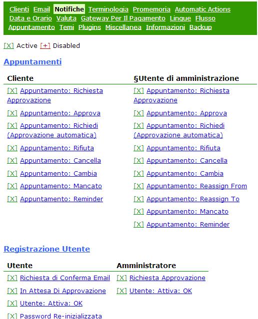 Il sistema invia notifiche tramite email