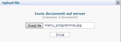 Caricamento File sul Server