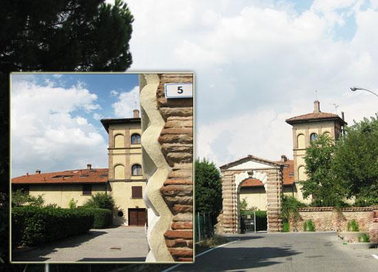 Mappa di Google per raggiungere villa la torre in via vaccaro 5 a bologna
