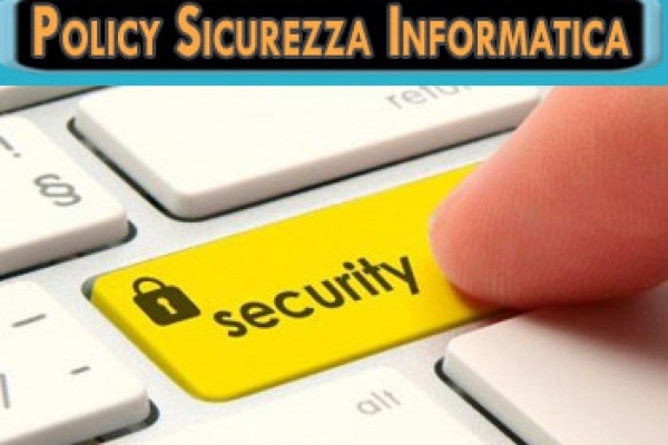 policy sicurezza informatica